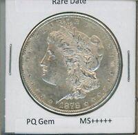 1878-S Morgan Dollar Rare Date US Mint Gem PQ Silver Coin Unc MS++++