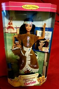 American Indian Barbie Doll American Stories Collection
