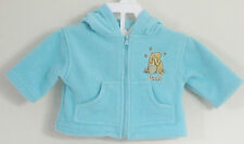 DISNEY CLASSIC POOH Girls Size 3 Months Light Blue Fleece Hoody Jacket