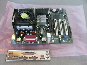 Intel D845GERG D845PECE Motherboard socket 478 with a P4 2.0ghz 1gb memory