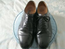 LOAKE  BLACK Leather Oxford Shoes Size 9.5 (style 200B) Pre-Owned