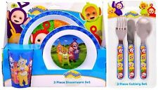 Teletubbies 6 Piece Dinnerware Set - Tableware Set & Cutlery *NEW
