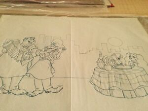 Disney's Lady & the Tramp Consumer Products Drawings Sale!!
