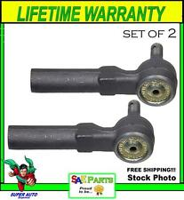 *NEW* SET Heavy Duty ES3200RL Steering Tie Rod End Front Outer