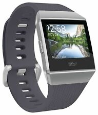 Fitbit Ionic Smartwatch GPS Activity Tracker Wristband - Grey & White.