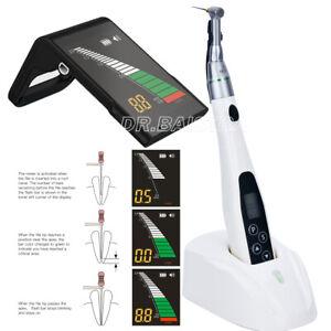 AU Dental Root Canal Apex Locator + LED Mini Endo Motor 16:1 Contra Angle KIT