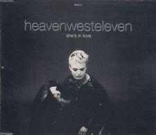 Heaven West Eleven-she 's in love ° MAXI-SINGLE-CD da 1994 °
