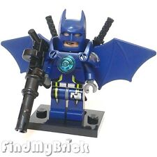 BM001d Lego Super Armor Batman Custom Minifigure -武者 Batman manbat 6860 6857 NEW