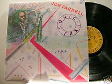 JOE FARRELL Sonic Text Freddie Hubbard George Cables LP
