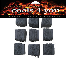20 ELECTRIC FIRE REPLACEMENT COALS COAL LARGE SIZE IN BRANDED PACK ALSO FOR GAS