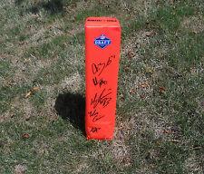 2012 NFL Draft Signed Autographed Football Pylon PROOF! COX COUSINS BROCKERS +