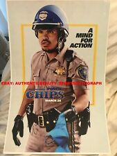 CHiPs 2017 MICHAEL PENA PONCH REMAKE COP SIGNED MOVIE POSTER 12x18 REPRINT RP