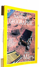 National Geographic Magazine - August 1998; Mars & Titanic 3-D (No Glasses)