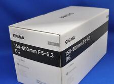 Sigma 150-600mm f/5-6.3 DG OS HSM Contemporary Lens for Nikon F Black AU
