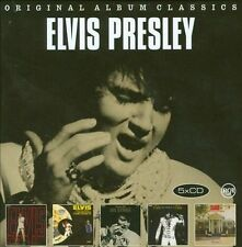 Original Album Classics [Slipcase] by Elvis Presley (CD, Sep-2012, 5 Discs, Sony Music Distribution (USA))