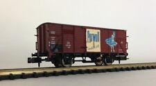 """BRAWA 67435 Gedeckter Güterwagen G 10 """"Perwoll"""" DB Epoche III 1:160 NEU & OVP"""