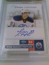 Ryan Nugent-Hopkins 2011-12 Contenders Auto /800 BGS 9.5 Gem Mint Oilers