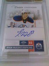 Ryan Nugent-Hopkins 2011-12 Contenders Auto /800 BGS 9.5 Gem Mint Oilers