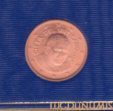 Vatican 2007 2 Centimes D'Euro FDC BU 85 000 exemplaires Provenant du BU RARE -