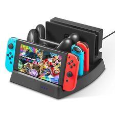 Ladestation Docking Station Ladekabel für Nintendo Switch Joy-Con Pro Controller