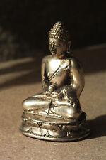buddha,6,5x4cm,,alpaka,neusilber,figur,mönch,buddhafigur,buddhismus,modell2