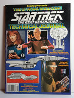 Star Trek:Next Generation Official Technical Journal Magazine from Starlog
