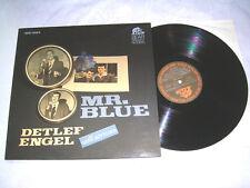 LP - Detlef Engel Mr.Blue - Bear Family 1981 MINT # cleaned