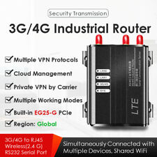 4G Lte Industrial Wireless Router W/Eg25-G Mini Pcie Global Version 2.4Ghz