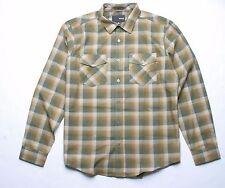 Hurley Perry Long Sleeve Shirt (Green) M