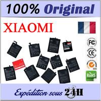 BATTERIE 100% ORIGINALE XIAOMI MIX 2 MIX MI5 4C 5S M6 NOTE 2/3/5/6 REDMI 3 5+...