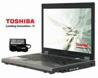 TOSHIBA TECRA M9 LAPTOP | 4GB | 160GB | DVDRW | FP | WIFI | WINDOWS 10 + OFFICE