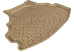 All Weather Cargo Area Liner For 08-12 Honda Accord Tan Rubber