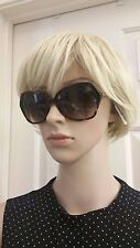 NWT Burberry BE4193 Female Sunglasses Dark Havana 300213 57mm $260 Gift Receipt
