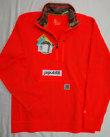 Carhartt 102831 Force Extremes 1/2 Zip Mock Neck Pullover MEDIUM [BN12-2831]