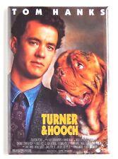 Turner & Hooch FRIDGE MAGNET (2 x 3 inches) movie poster tom hanks
