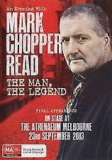 AN EVENING WITH MARK CHOPPER READ DVD -NEW & SEALED LIVE ON STAGE HIS LAST SHOW