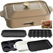Bruno Compact Hot Plate Ceramic Coat Pot Grill Plate Multi Plate Free Shipping!!