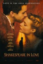 Shakespeare In Love Movie Poster 1 Sided Original 27x40