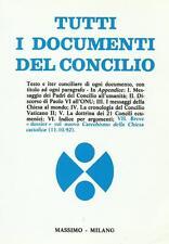 """Buono stato """"TUTTI I DOCUMENTI DEL CONCILIO VATICANO II"""""""