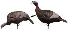 Flextone Thunder Jake 1/4 Strut & Feeding Hen Turkey Decoy Set