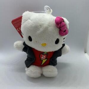 Hello Kitty Plush Clip Bag Keychain With Sound 12 CM Sanrio #2