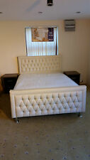 Faux Leather Combination Foam Beds with Mattresses