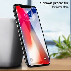 3X Apple iPhone11 XS Max XR X/ 8 Full Coverage Tempered Glass Screen Protector