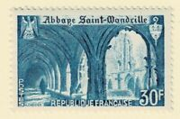FRANCE - 1951 30fr ABBEY - Sc#649 - MNH - E 2076