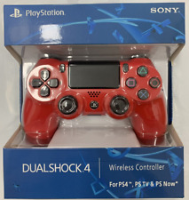 SONY PS4 Controller PlayStation Games Console Red Game Pad DualShock Wireless