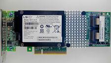 LSI MegaRAID SAS9261-8i CARD SAS2 6Gb SATA3 RAID 1,5,6,10 512MB iBBU08 L3-25239
