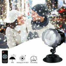 Christmas Snowfall Landscape Lights Projector LED Light with Remote