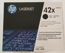 GENUINE HP Laserjet Q5942X 42X Black Cartridge NEW Never Opened