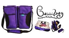 3 in 1 Diaper Bag Bassibag Travel Crib Changing Pad Table Bassinet Purple