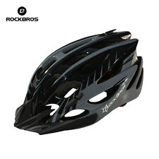 Rockbros Cycling Helmet Road Bicycle MTB Bike Helmet 57cm-62cm With Visor